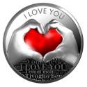 I Love You, Silver Coin, 2019