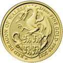 Queen's Beasts Dragon 1/4 oz 2017 Gold
