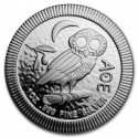 Athenian Owl Stackable Coin Niue $2 1 oz Silver 2018