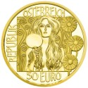 Gold Coin JUDITH II 2014, 50 EURO, proof