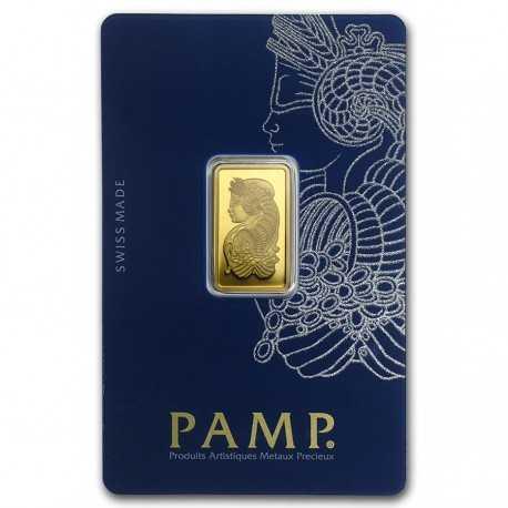 5g Fortuna Gold Bar PAMP