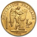 Gold Coin Lucky Angel 20 Francs