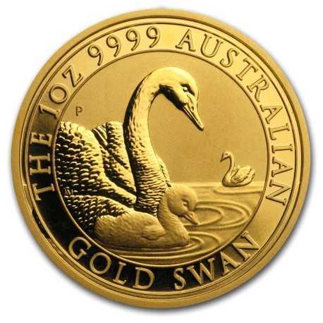 Australia Swan 1oz Gold 2019