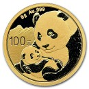 China Panda 8 gr Gold 2019