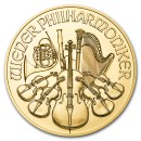 Austrian Vienna Philharmonic 1/2 oz mixed year Gold