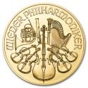 Austrian Vienna Philharmonic 1/2 oz mixed year Gold