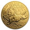 Year of the Dog 1oz Great Britain 2018 Gold