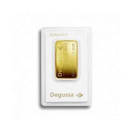 1 oz Gold Bullion / Bbar Degussa
