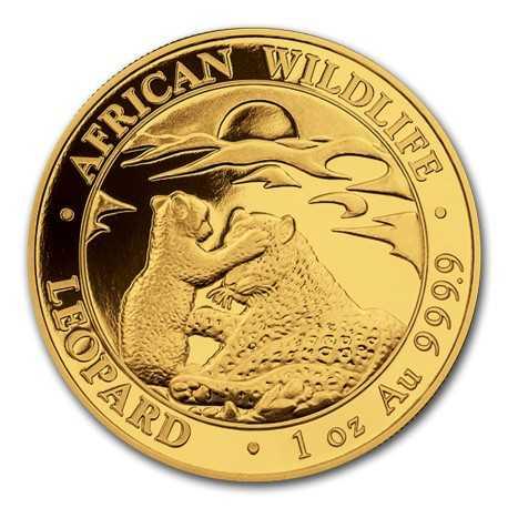 Somalia Leopard 1 oz 2019 Gold