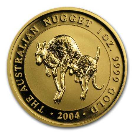 Nugget  Kangaroo 1 oz 2004 Gold