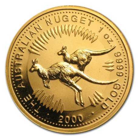 Nugget  Kangaroo 1 oz 2000 Gold
