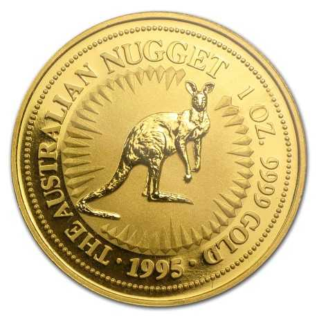 Nugget  Kangaroo 1 oz 1995 Gold