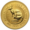 Nugget  Kangaroo 1 oz 1994 Gold