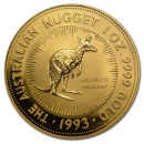 Nugget  Kangaroo 1 oz 1993 Gold