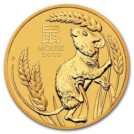 Lunar Mouse 1 oz 2020 Gold