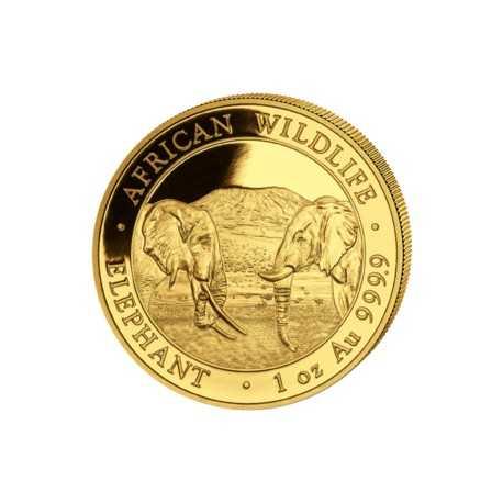 Somalia Elephant 1 oz 2020 Gold