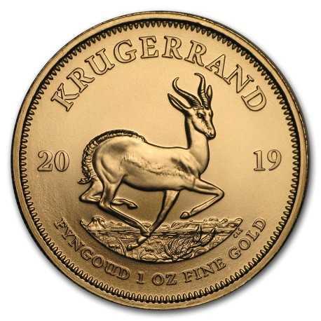 Krugerrand 1 oz 2019 Gold