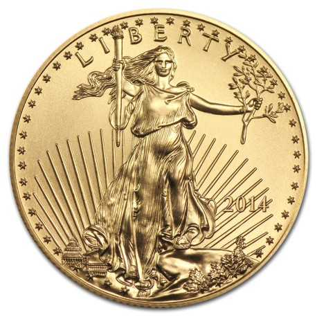 American Eagle 50 Dollar 1 oz 2014 Gold