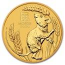 Lunar Mouse 1/20 oz 2020 Gold