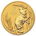 Lunar Mouse 1/2 oz 2020 Gold