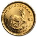 Krugerrand 1/10 oz Gold 1982