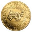 Australia Nugget 1 oz Gold 1987