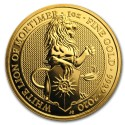 Queen's Beasts The White Lion 1 oz 2020 Gold