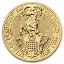 Queens Beasts Yale of Beaufort 1 oz 2019 Gold