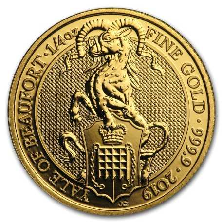 The Queens Beasts the Yale of Beaufort 2019, 1/4oz