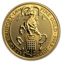 Queens Beasts the Yale of Beaufort 1/4 oz 2019 Gold