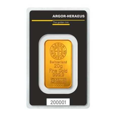20g Gold Bullion/ Heraeus