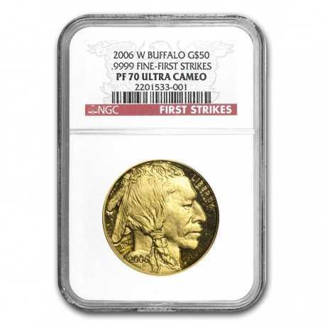 Buffalo 1 oz  Gold 2006  Proof PF-70 NGC