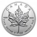 Maple Leaf  5 Dollars 1 oz  Silver - 2012