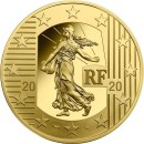 The New Franc 20 euro 1/4 oz   Gold 2020