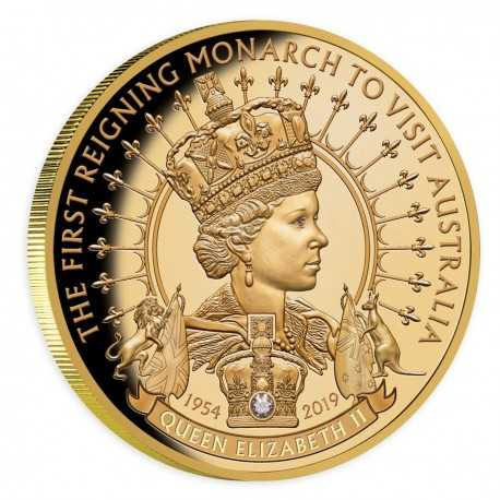 100 Dollars First Reigning Monarch to Visit Australia