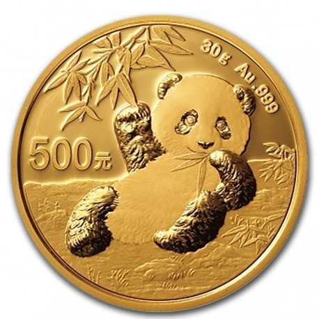 China Panda 30 gr Gold 2020