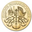Austrian Vienna Philharmonic 1 oz 2021  Gold