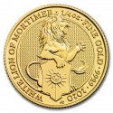 Queen's Beasts The White Lion 1/4 oz 2020 Gold