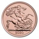 Full Sovereign Elizabeth 2020 Gold