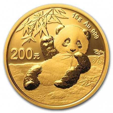 China Panda 15 gr Gold 2020