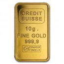 10 gr.  Gold Bar Credit Suisse
