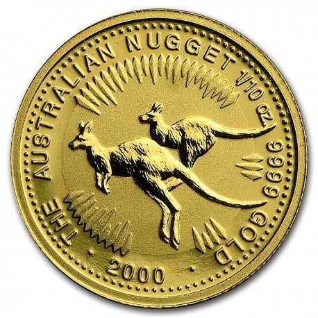 1/10 oz Gold Kangaroo 2000