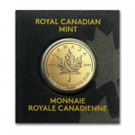 Canadian  Maple Leaf  Gold 1 gr mix years