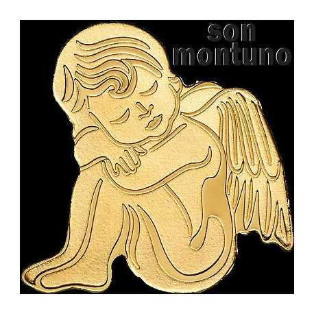 Gold Guardian Angel 0.5 gr 1$ Palau