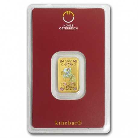 Austrian Mint Gold Bar  5 gr. Kinebar