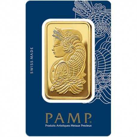 250 gr. Fortuna Gold Bar - PAMP Suisse