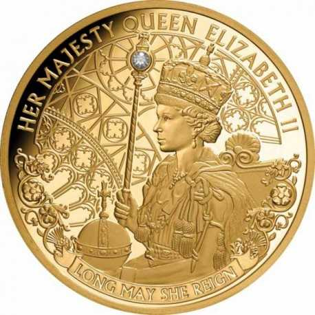 Gold Coin Long May She Reign 1 oz 2019