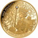 Gold Coin Queen Elizabeth II -Long May She Reign 1 oz 2020