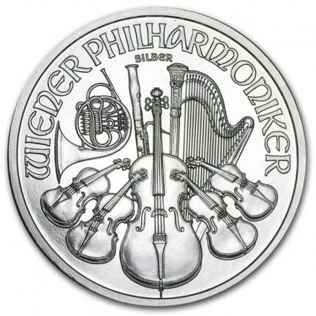 Austrian Vienna Philharmonic 1oz Silver 2020