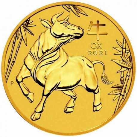 Lunar Ox 1 oz 2021, Gold